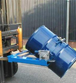 Fork Lift Drum Hoist  and Tippler Attachment