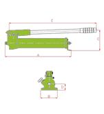 Hydraulic Hand Pumps Type (W)