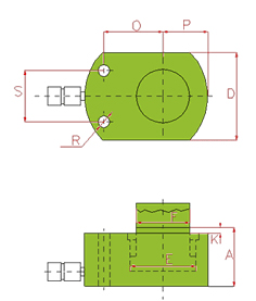 LOW HEIGHT CYLINDERS