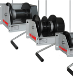 Industrial Worm Gear Hand Winches